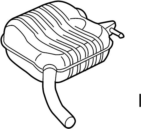 Audi Q5 Resonator. SILENCER. W/HYBRID. EXHAUST, SYSTEM