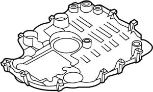 2016 Audi Engine Oil Pan Baffle Engine Oil Sump Windage