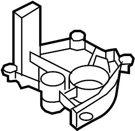 2015 Audi Q5 Engine Oil Pan Baffle. Engine Oil Pump Cover