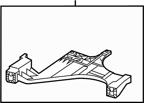 Audi A5 Bracket. Mount. HEADLAMPS, BEAM, WXENON