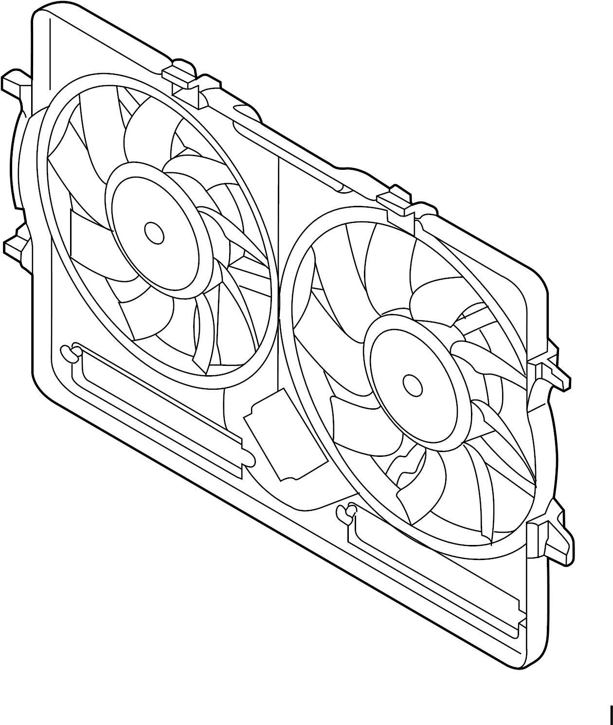 Audi A4 Base Sedan 2 0l A T Quattro Engine Cooling