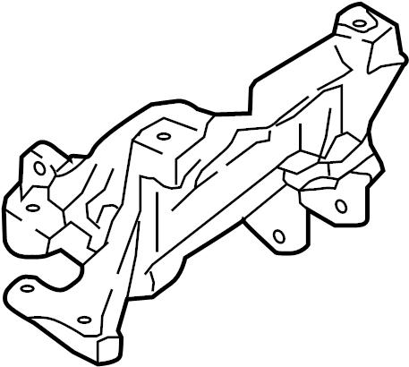 Audi A4 Suspension Subframe Reinforcement Bracket (Front