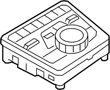 2017 Audi A4 Control. Panel. Controller. Switch. Wpremium