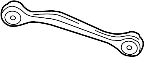 2011 Audi A4 Base Sedan 2.0L A/T Quattro Arm. Rod. Lateral