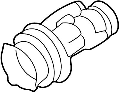 2002 Audi A8 Socket. Bulb. Signal. 2000-03 W/O XENON