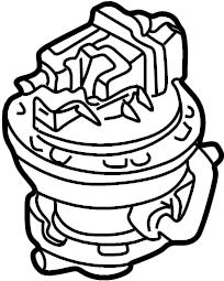 2000 Audi A4 Base Sedan 2.8L V6 M/T Quattro Leak. Pump