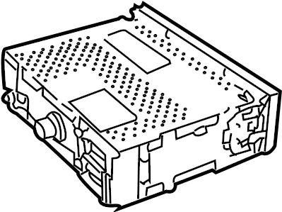 Car Engine Parts Radiator Car Radiator Covers Wiring