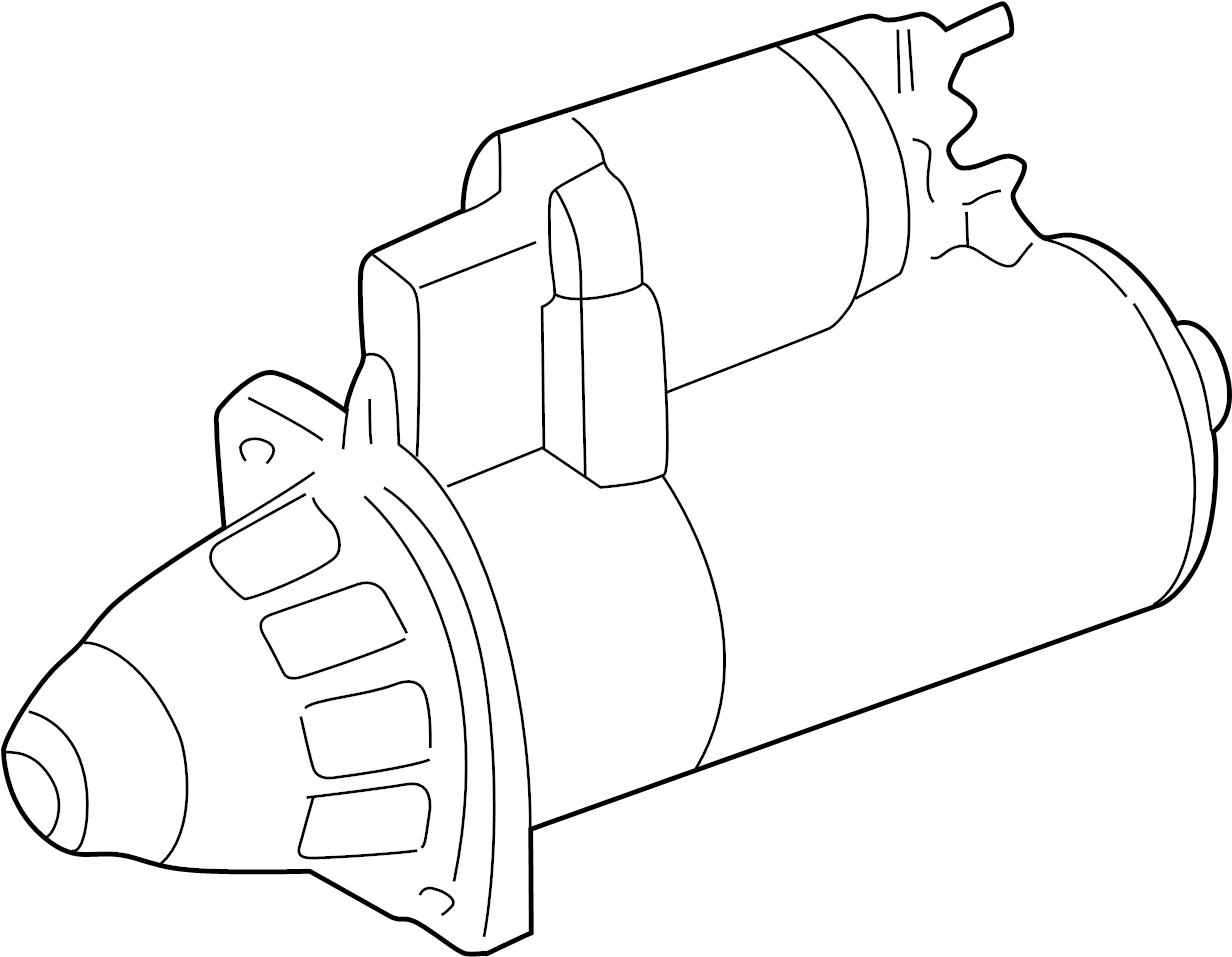 Audi A8 Starter Motor New Liter Valeo