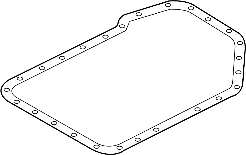 2004 Audi A4 Automatic Transmission Oil Pan Gasket
