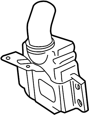 2003 Audi A6 Base Sedan 3.0L V6 CVT FWD Engine Air Intake