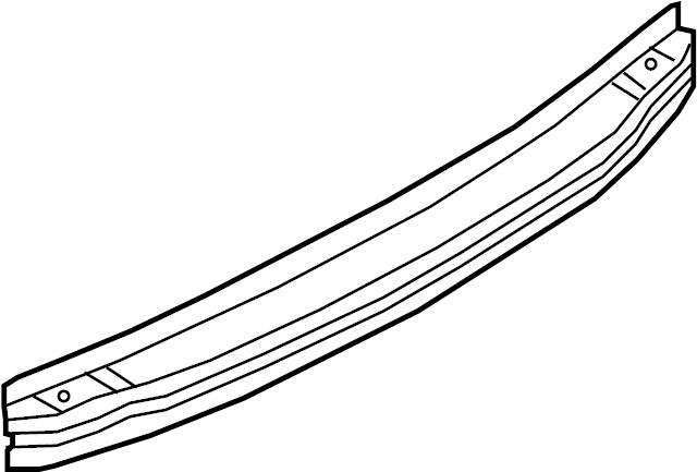 Audi RS4 Bracket. Bumper impact bar. Reinforcement. A4