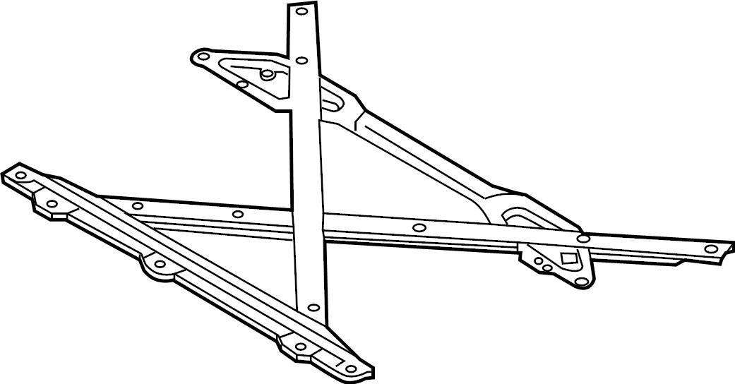 Audi S5 Suspension. Crossmember. Liter, trans, engine