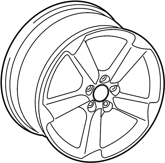 Audi A4 Wheel, alloy. 19, 5 single spoke. May, WHEELS