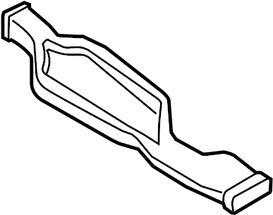 Audi A4 Duct. Air. (Rear, Lower). 2013-2016. CONVERTIBLE