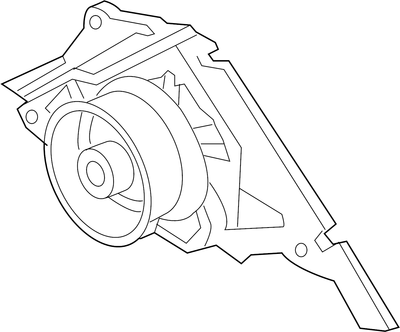 Audi A6 Cooling Pump Engine Water Pump Water Pump