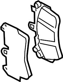 Audi Q7 Disc Brake Pad Set (Front). Pads, Wear