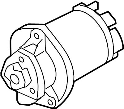 Audi Q7 Engine Water Pump. Incl.Gasket. Main Engine Water