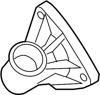 2007 Audi Q7 Base Sport Utility 3.6L V6 A/T Engine Coolant