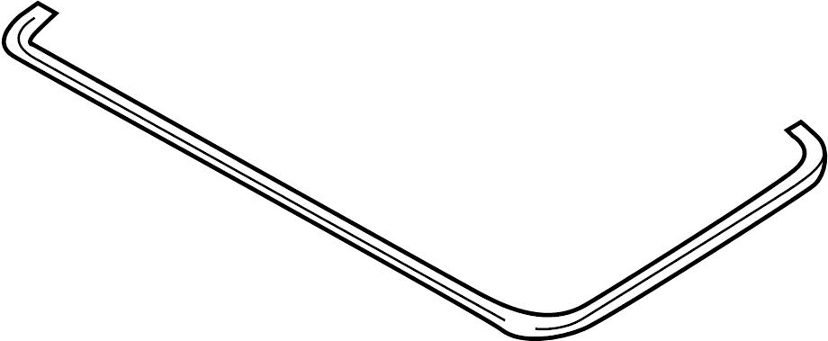 2001 Audi A4 Glass. Gasket. Sunroof. Seal. SEDAN, WagON