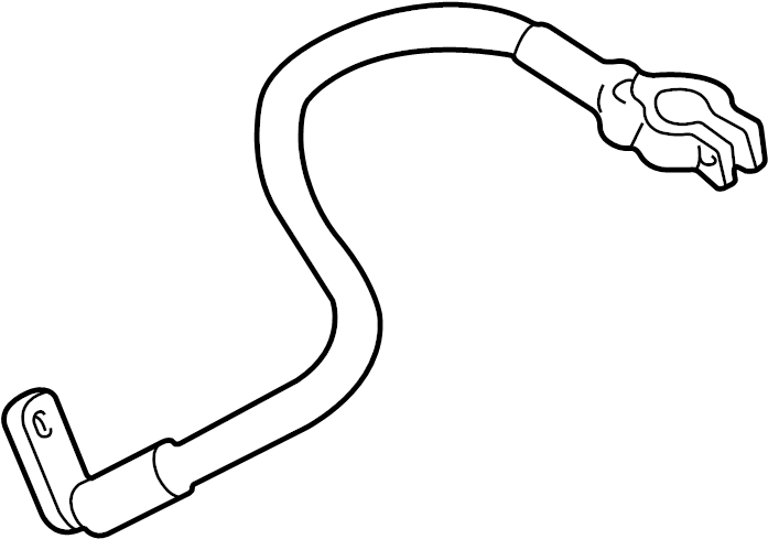 2000 Audi A4 Battery Cable. Liter, STYLE, Positive