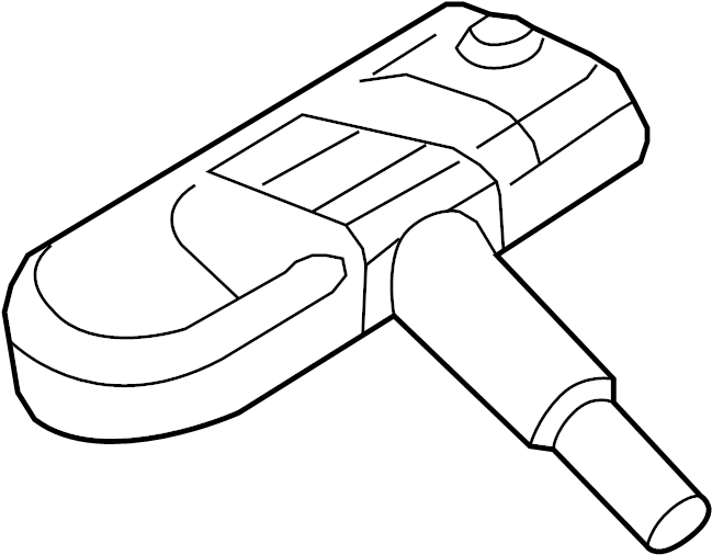 2016 Audi Q5 Tire Pressure Monitoring System Sensor