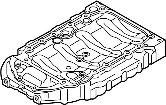 2009 Audi A3 Base Hatchback 2.0L A/T Quattro Engine Oil
