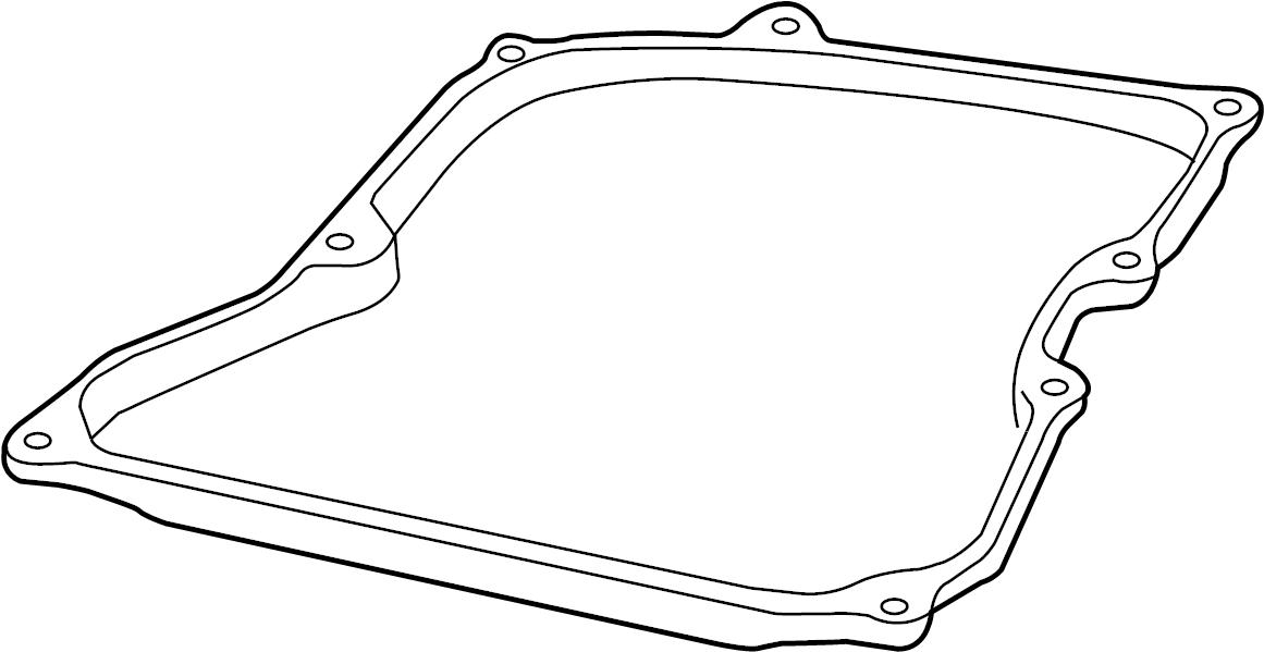 Audi TT Automatic Transmission Oil Pan Gasket. MAGNET