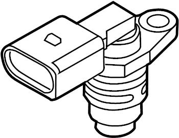2006 Audi A4 Camshaft sensor. Engine Camshaft Position