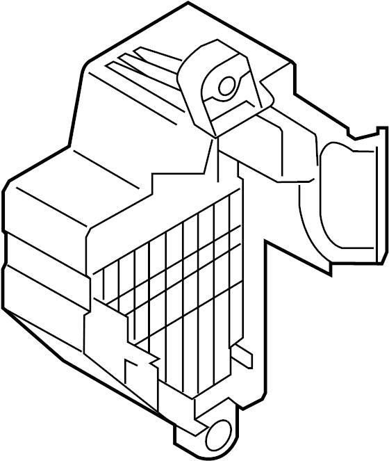 Old Main Fuse Box Parts Holder