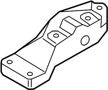2006 Audi Mount. Bracket. Transmission. Audi; Volkswagen
