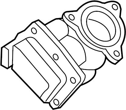 2011 Audi Exhaust Back Pressure Regulator. LITER, DIESEL