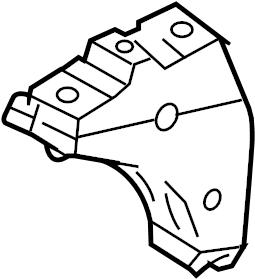 Audi TT Bracket. Transmission. Mount. Support. 1.8 LITER