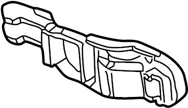 Audi TT Exterior Door Handle Base. 2 DOOR. 4 DOOR. From