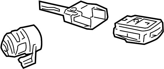 2000 Audi Cylinder. Lock. Ignition. Coded. SEDAN. UnCoded