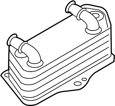 2010 Audi Automatic Transmission Oil Cooler. TRANSMISSION