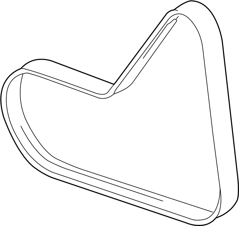 Audi Ac Belt Ribbedbelt Serpentine Belt Liter