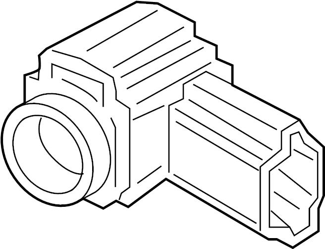 2016 Audi A3 Sensor. Park. Audi; Volkswagen. FRONT, BUMPER