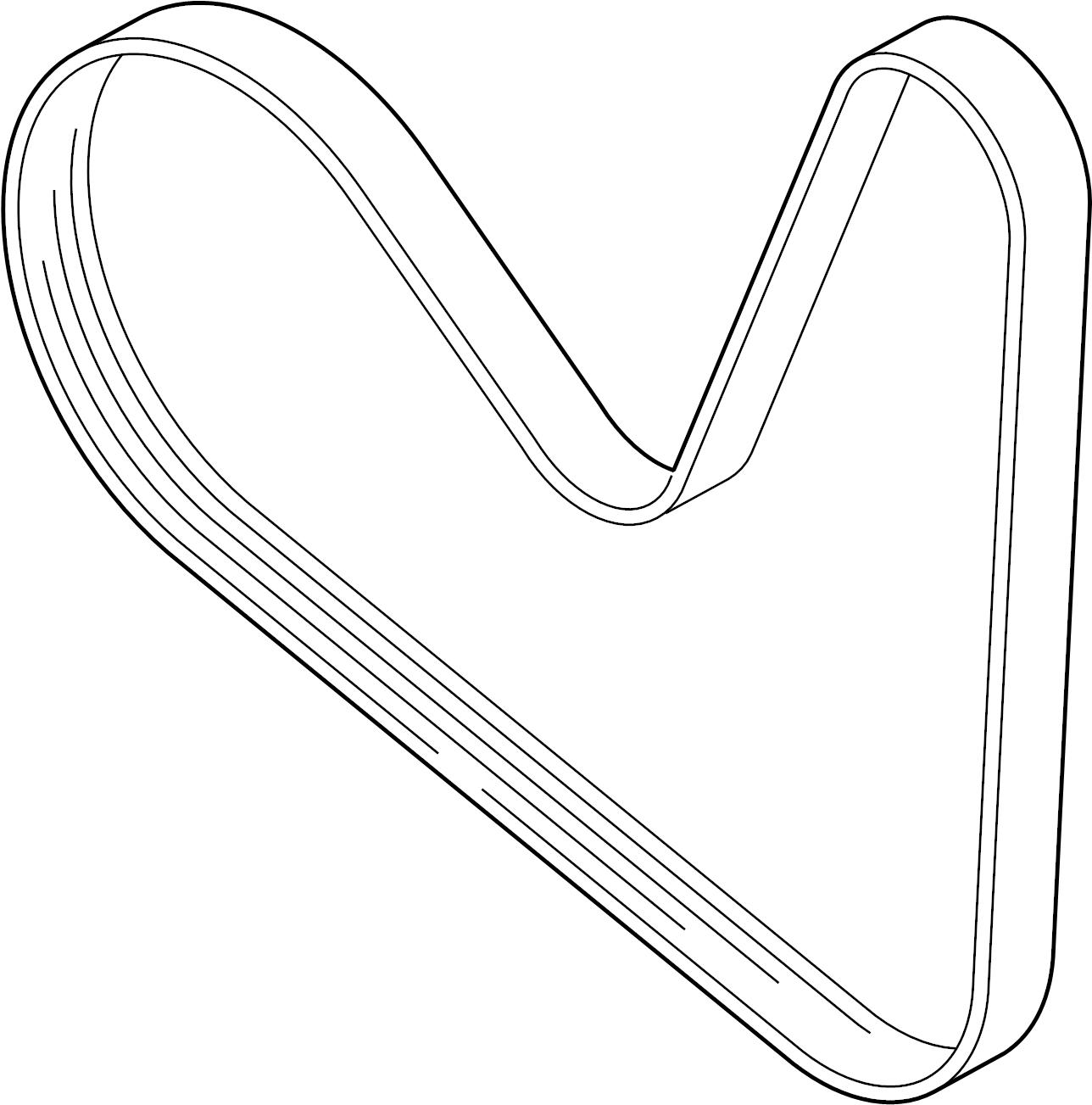 Audi A4 Ribbedbelt. Serpentine belt. Liter, pulleys, belts