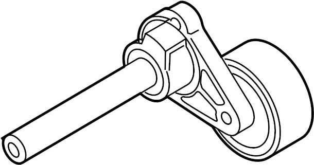 2007 Audi Belt tensioner. SERPENTINE TENSIONER. Belts
