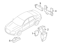 Audi A4 Sensor. Tire Pressure Monitoring System Antenna