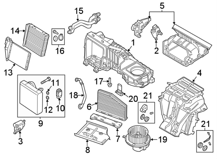 2010 Volkswagen SportWagen Filter. Air. Element. Cabin
