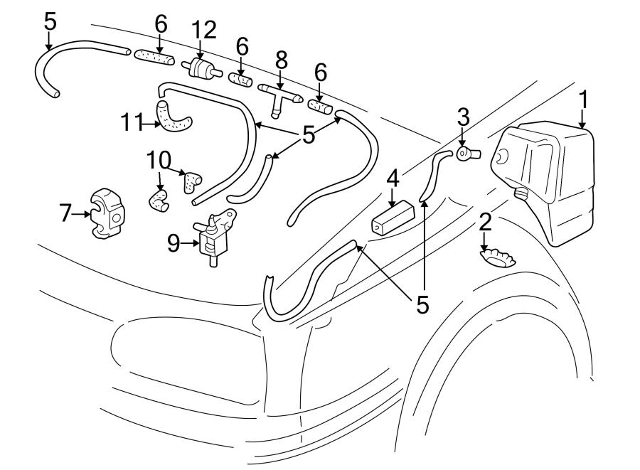 2002 Volkswagen Cabrio Fuel Injection Idle Air Control