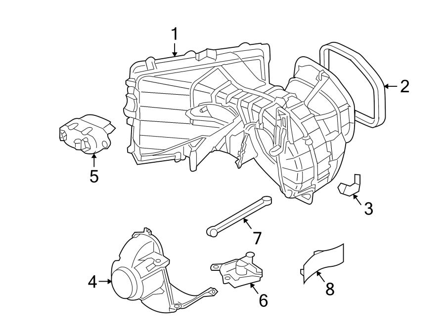 2009 Volkswagen Touareg Control. HVAC. Module. Q7. REAR