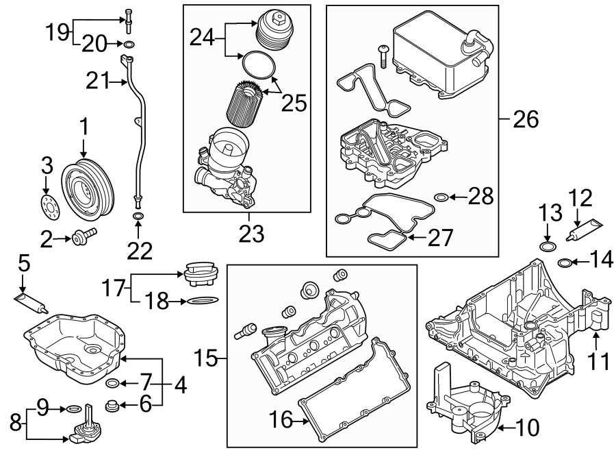 2013 Volkswagen Touareg Engine Coolant Thermostat Kit