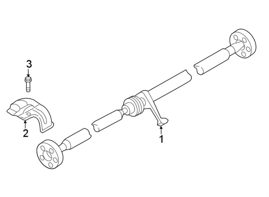 2011 Volkswagen Tiguan Screw. Shield bolt. Awd. Suspension