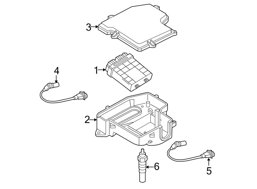2004 Volkswagen Passat Wagon Engine Control Module. 2.0