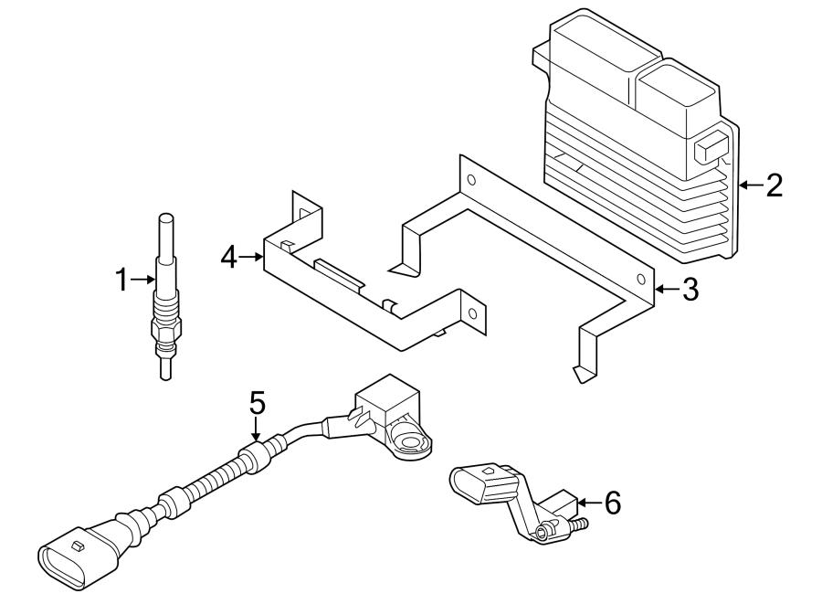 2014 Volkswagen Passat Camshaft sensor. Engine Camshaft