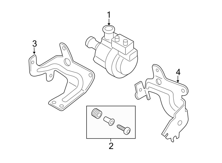 2015 Volkswagen Passat Auxiliary pump. Engine auxiliary