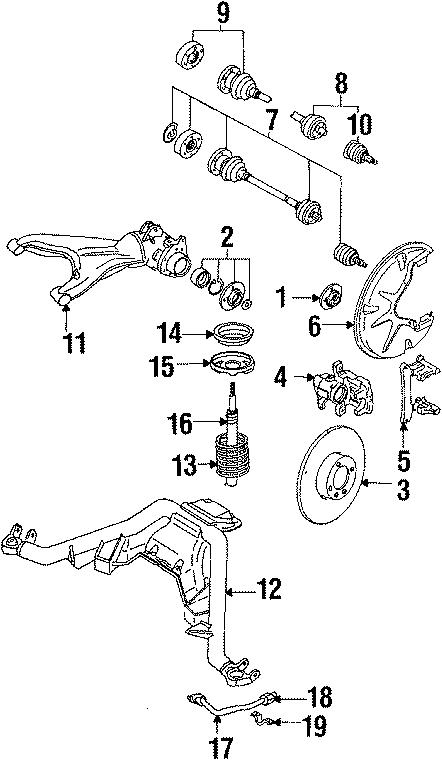 1987 Volkswagen Quantum Cv joint boot kit. Carat, wcarat