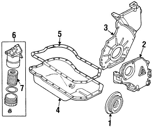 1995 Volkswagen Passat Wagon Engine Oil Filter Element